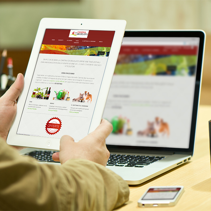 Progetto sito web responsive