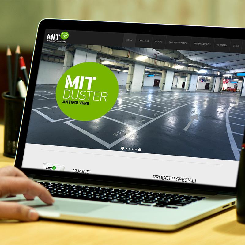 Sito web responsive per MIT2B
